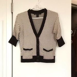 Marc by Marc Jacobs dot cardigan